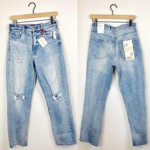 NWT GAP Cone Denim Mom Jeans